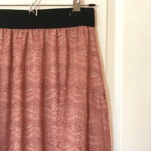 NWOT Mauve LLR Lola Skirt